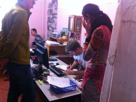 Nukus office in action © Emily Wise