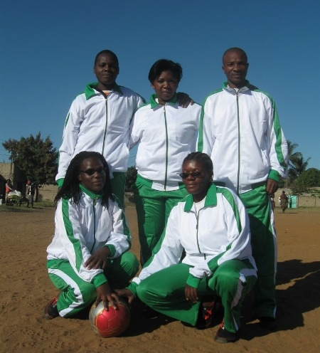 The Mambinhas soccer team. Photo: MSF