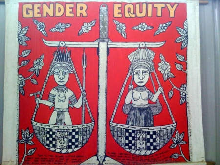 """Gender Equity"" by Winston Kauge (junior)"