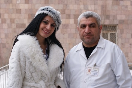 Mariam and her doctor