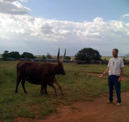 Photo: Eamonn Vitt | The elusive northern Ugandan 6-legged cow.