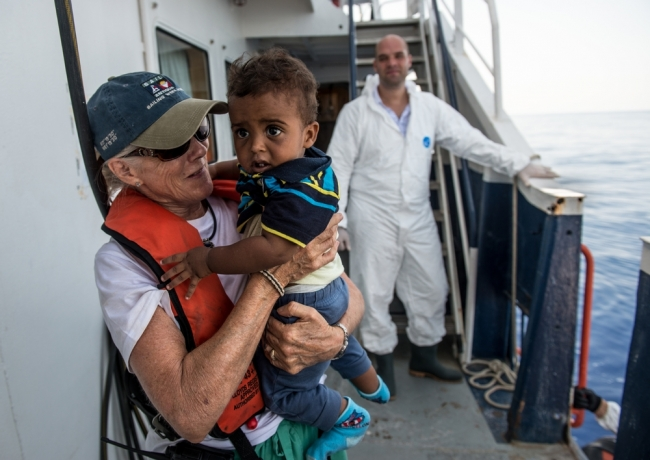 MSF Doctors Without Borders Search Rescue Mediterranean refugee migration
