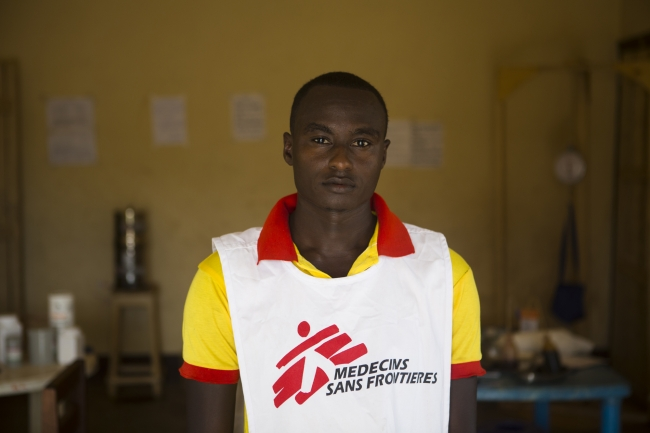 Moustapha Adjaro, MSF nursing assistant, Central African Republic