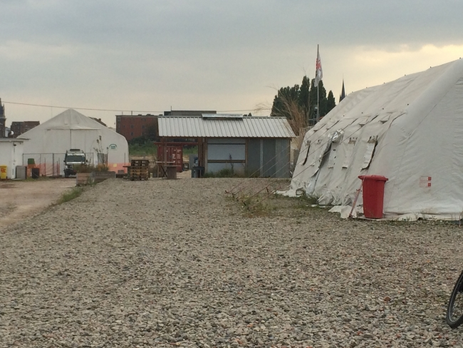 "MSF creates a ""field"" setting in the midst of Brussels"