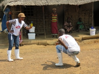 Health promotion drama in a village © Alison Criado-Perez