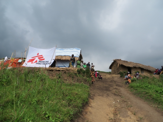 MSF provides malaria treatment in DRC.