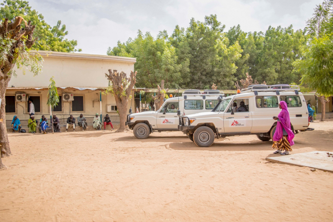 MSF visits a rural community near Jahun. Photo: Maro Verli/MSF