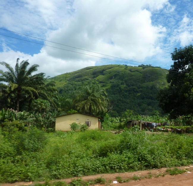 The drive from Kissidougou to Guekedou photo: Katy Athersuch/MSF