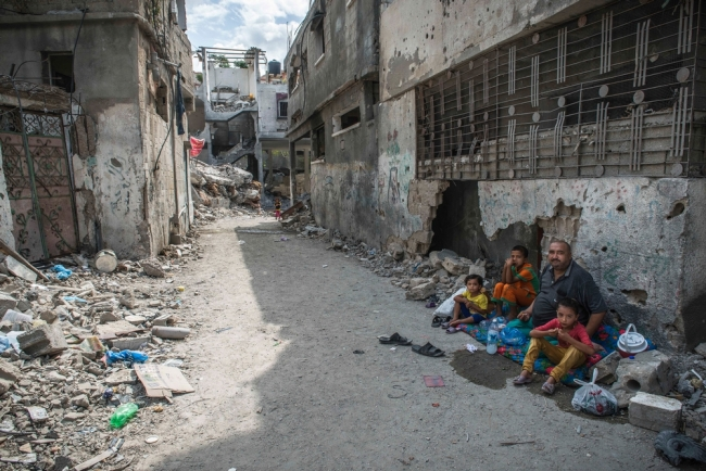 Beit Hanoun, northern Gaza, Occupied Palestinian Territories, 6 September 2014