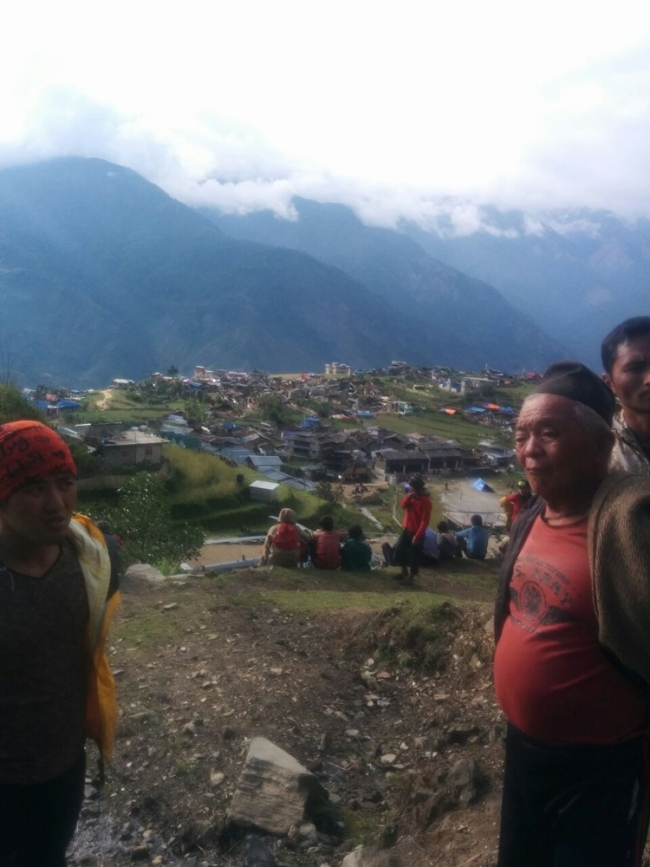 Nepal Earthquake assessment ©MSF