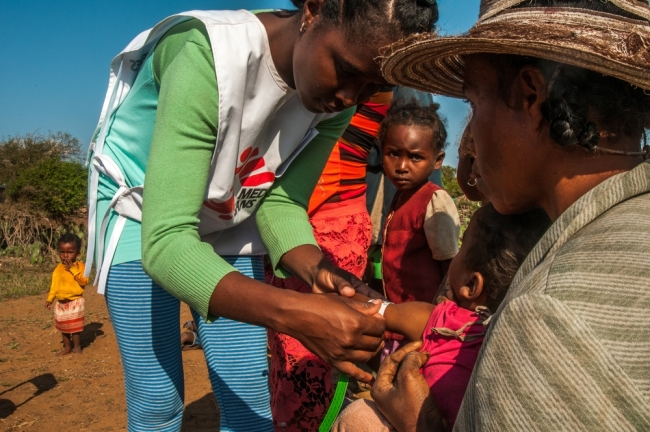 MSF Doctors Without Borders Madagascar nutrition