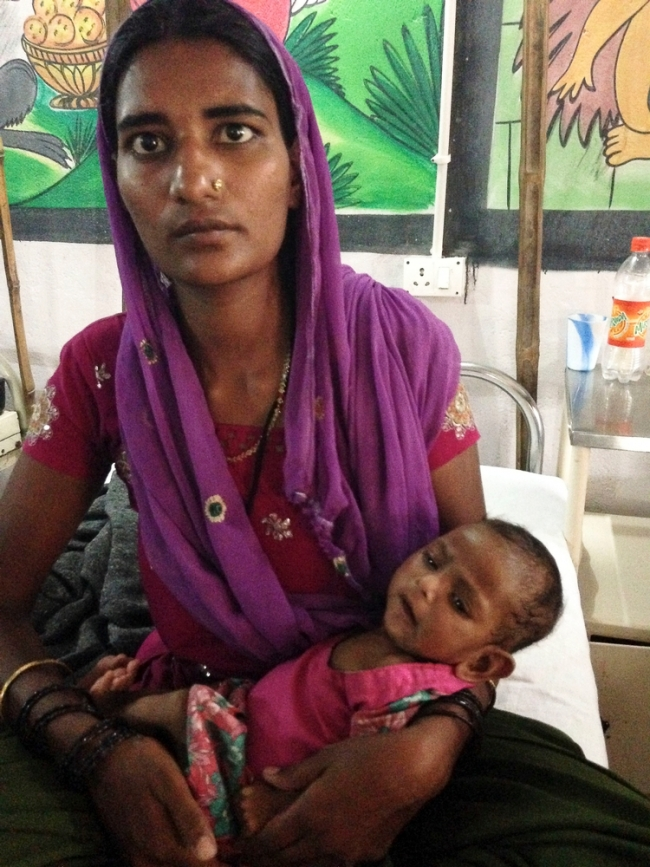 MSF Doctors Without Borders malnutrition India