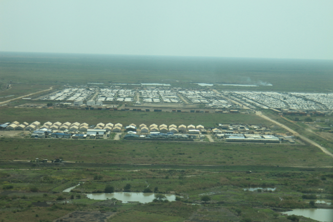 At the height of the crisis, the camp at Malakal was home to 47,000 people. Photo: Philippe Carr/MSF