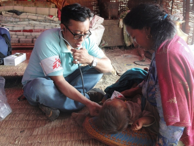 MSF Nepal Earthquake
