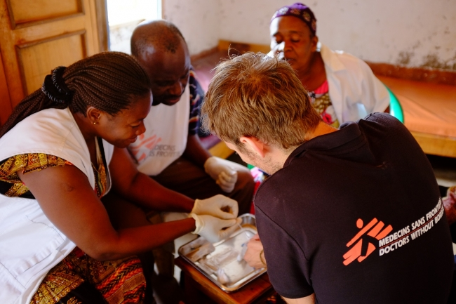 MSF Doctors Without Borders DRC HIV
