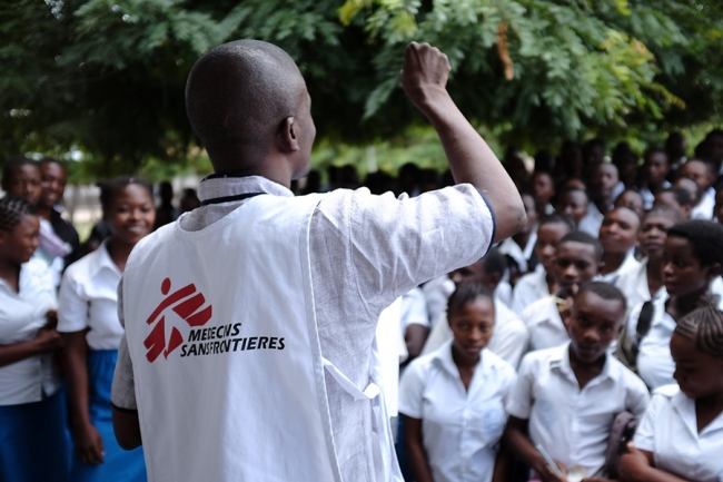 MSF Doctors Without Borders DRC