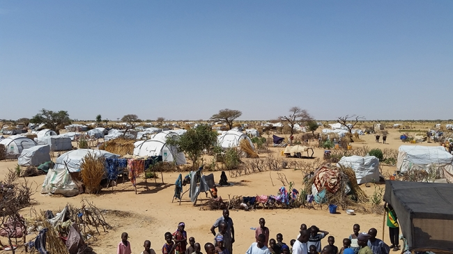View of Assaga camp © MSF