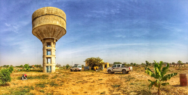 Taradona water tower