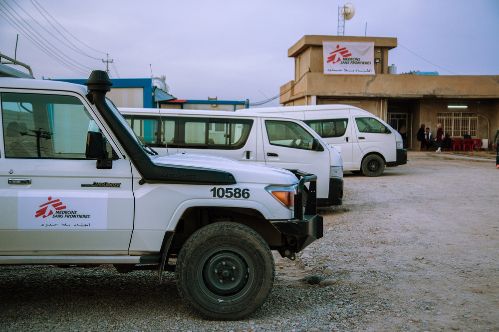 An MSF hospital in Zummar, nearby where Georgina worked. Our hospital in Zummar opened in 2016. Photo: Louise Annaud/MSF