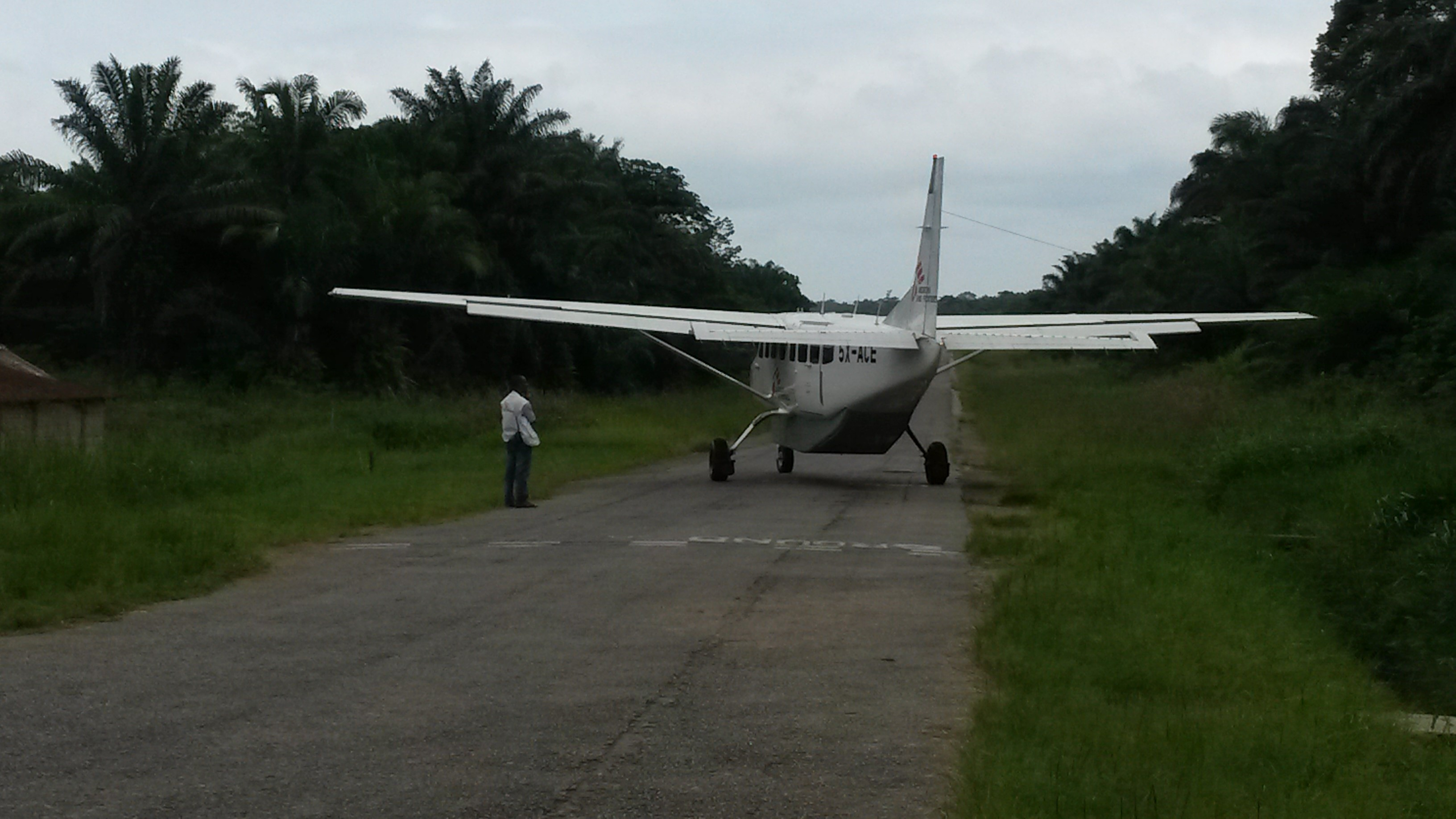 My chariot from Goma to Walikale
