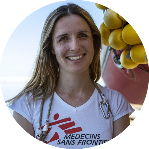 MSF nurse Catherine Flanigan