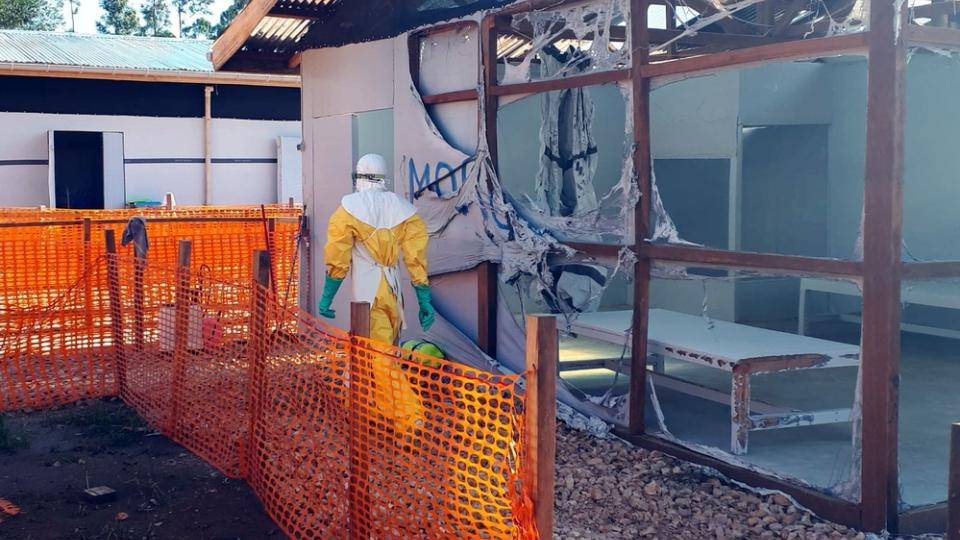The Ebola treatment centre in Katwa was torched just days before a similar attack in Butembo.