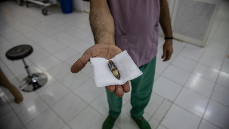 Bullet wounds are common at Al Salakhana hospital in Yemen, which is in the midst of a civil war.