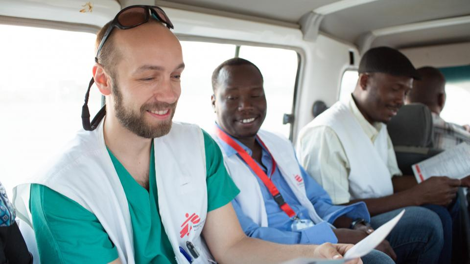 Michal Pospíšil and his team in Sudan