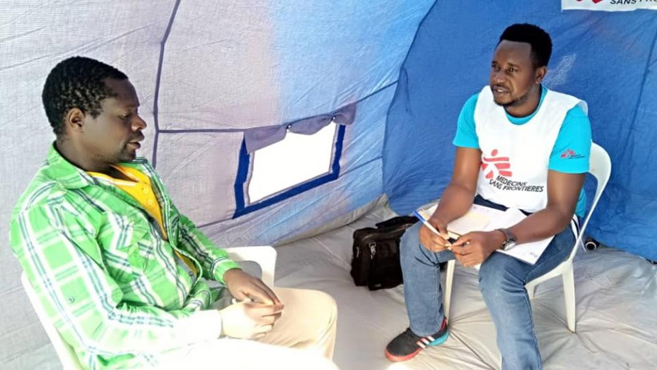 Mental health counselling taking place in Zimbabwe after Cyclone Idai