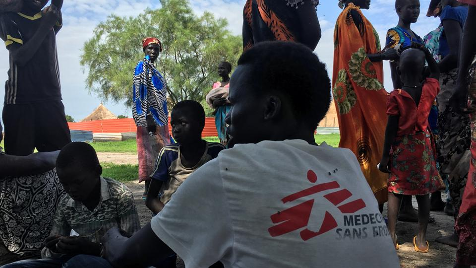An outreach worker in Bentiu