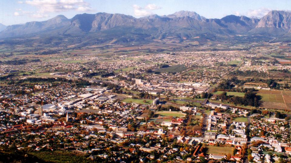 View of Paarl