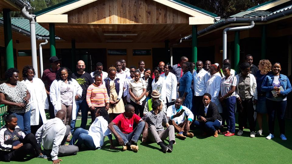 The new MSF Medically Assisted Therapy clinic in Kiambu County opened in September 2019
