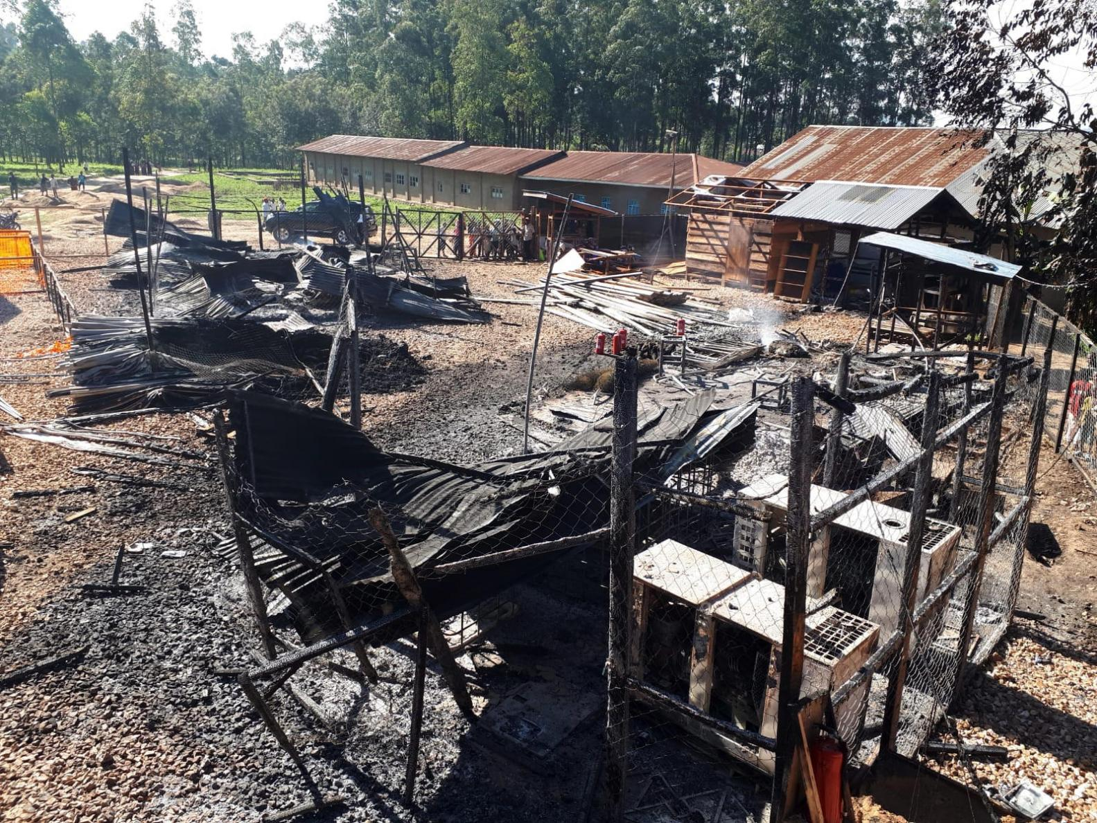 On 24 February 2019, an unknown group attacked an Ebola treatment centre in Katwa - forcing MSF to suspend activities in the area