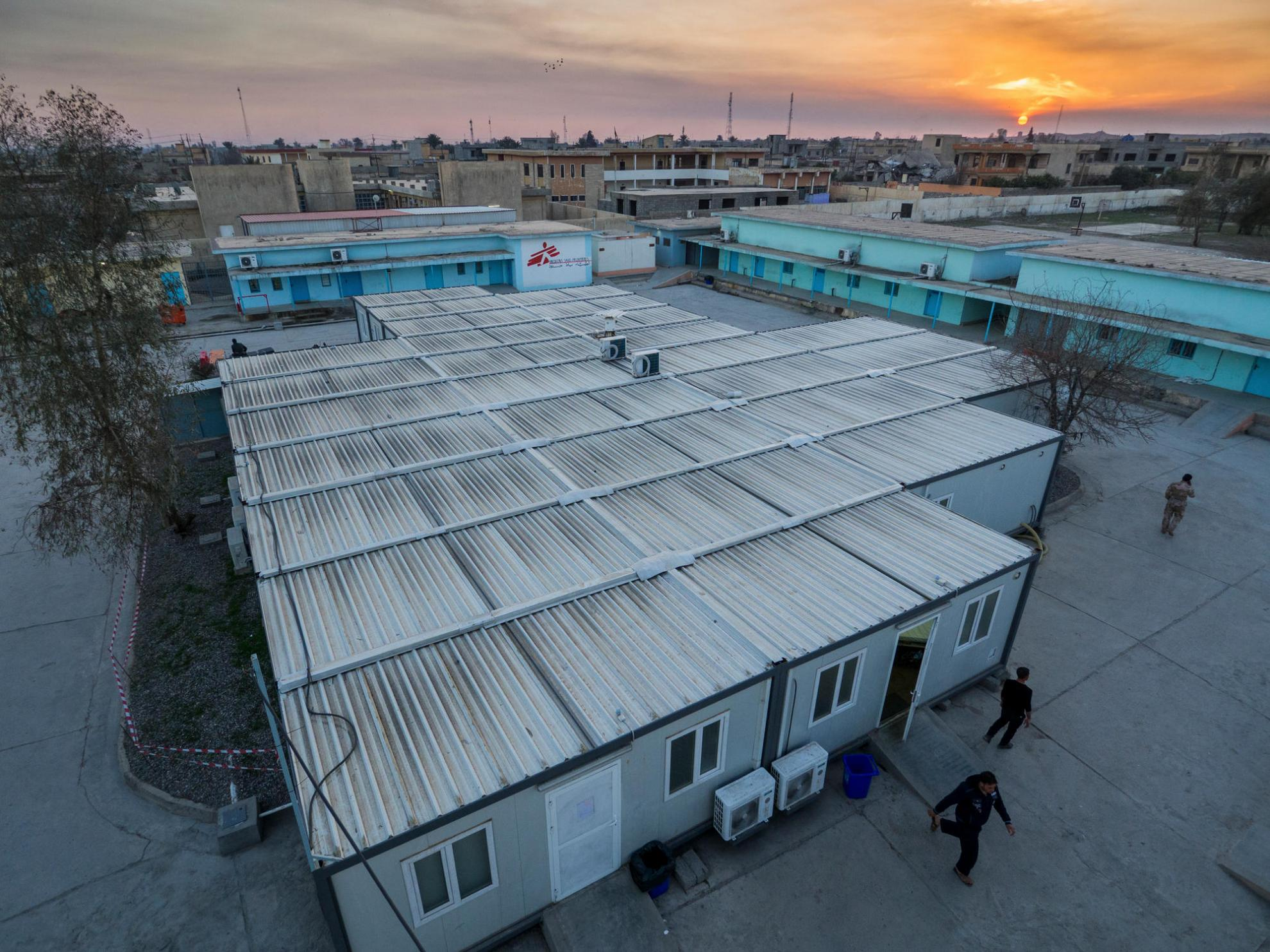 MSF's hospital at Al Qayyarah in Iraq