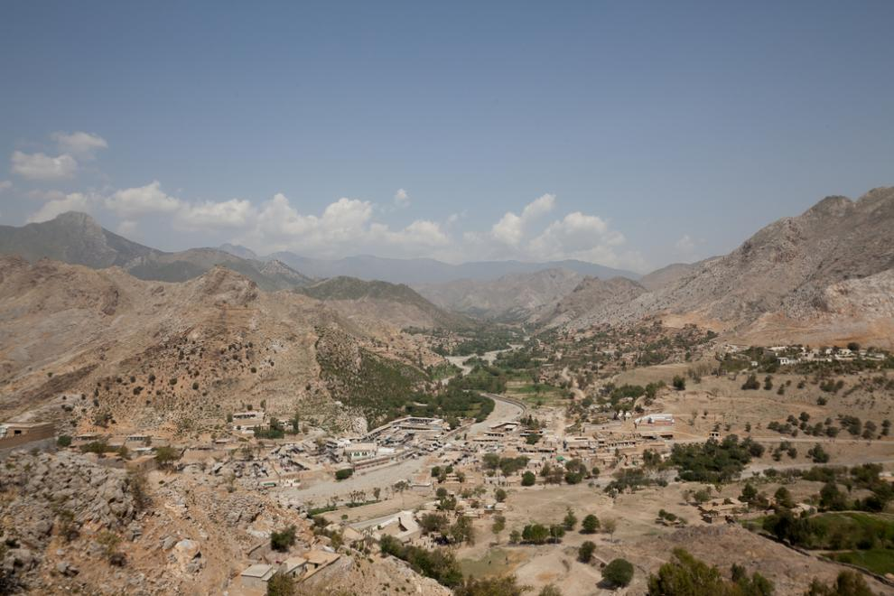 A view over the former Federally Administered Tribal Areas of Pakistan