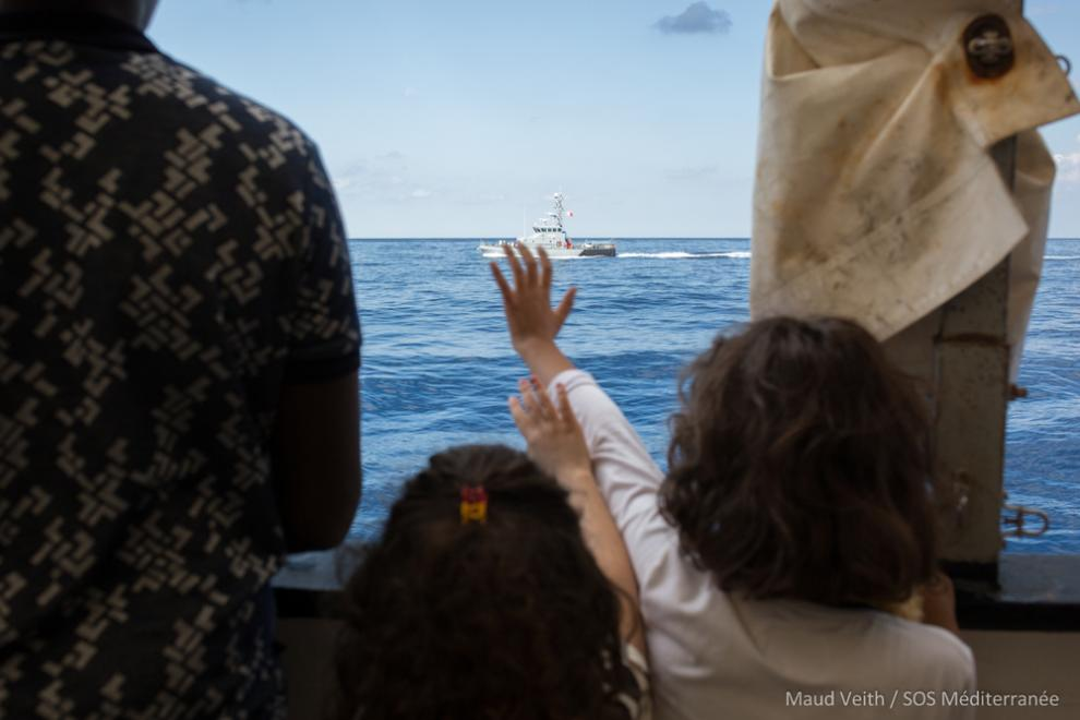 On 30 September 2018, the strong winds and choppy water finally abated and allowed for the safe and secure transfer of all 58 people – and a dog – to Maltese authorities