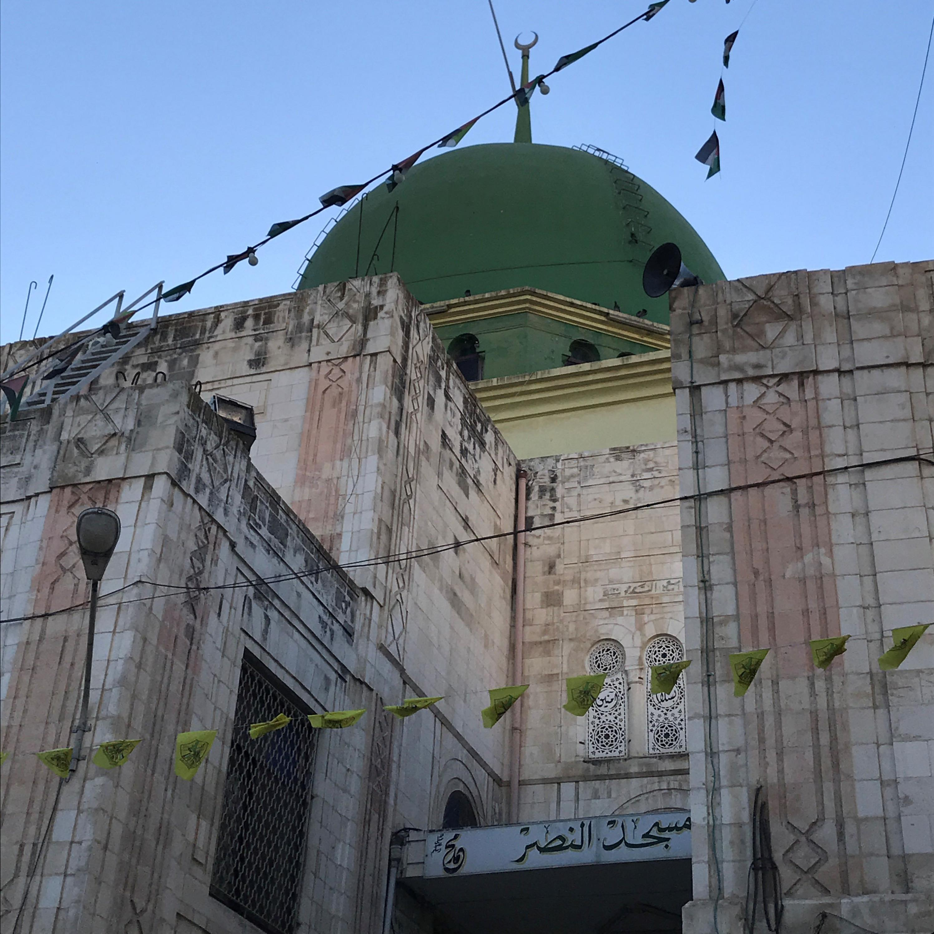 A mosque in Nablus