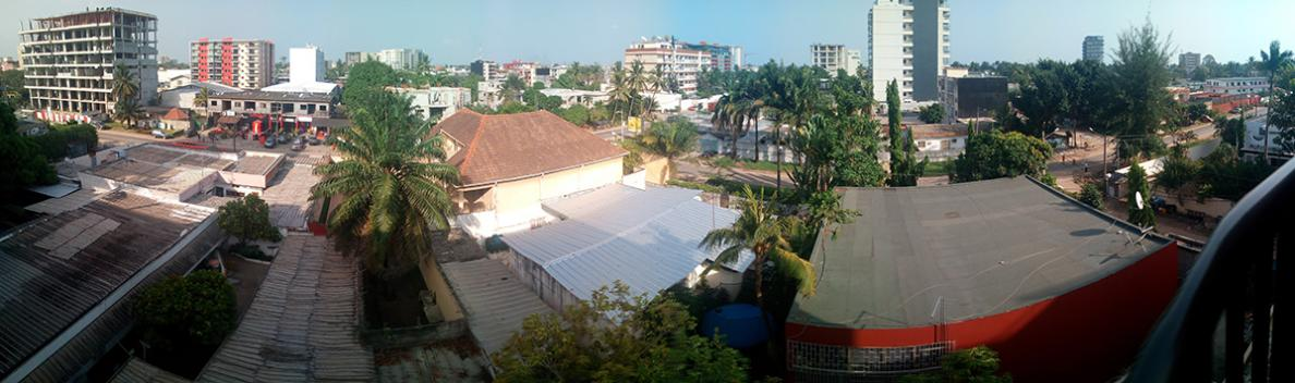 Panorama of Abidjan