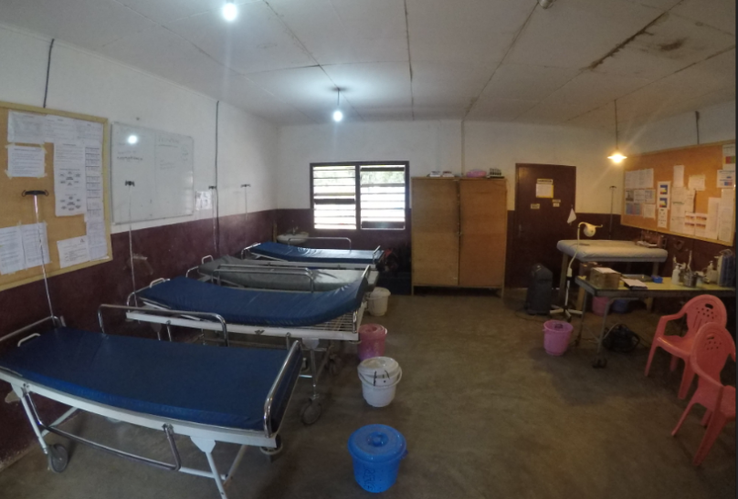 The emergency room at the Bossangoa hospital
