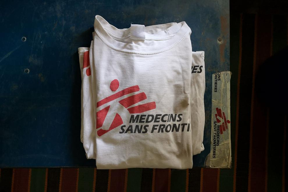 Jennifer eventually received an MSF-branded T-shirt.