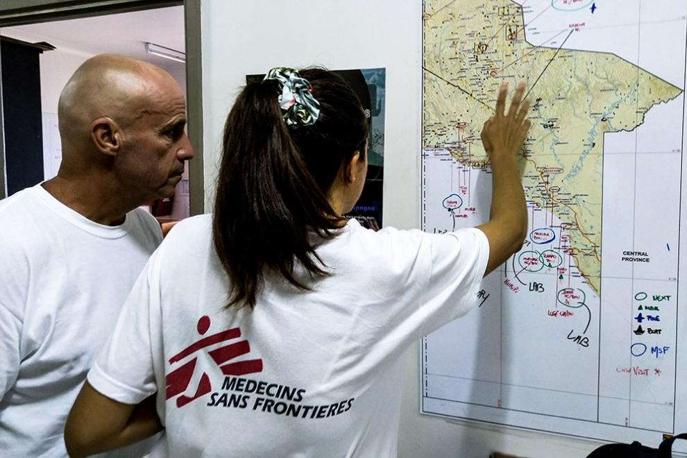 MSF staff coordinate TB programme in Papua New Guinea