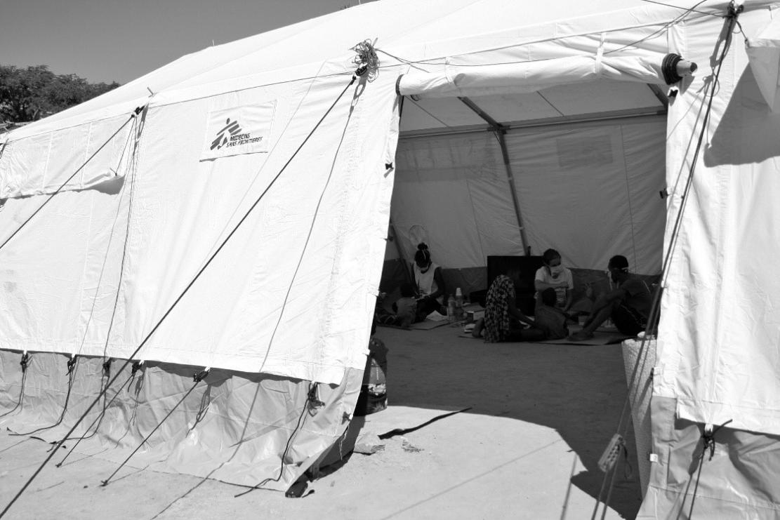 Consultations in the tent