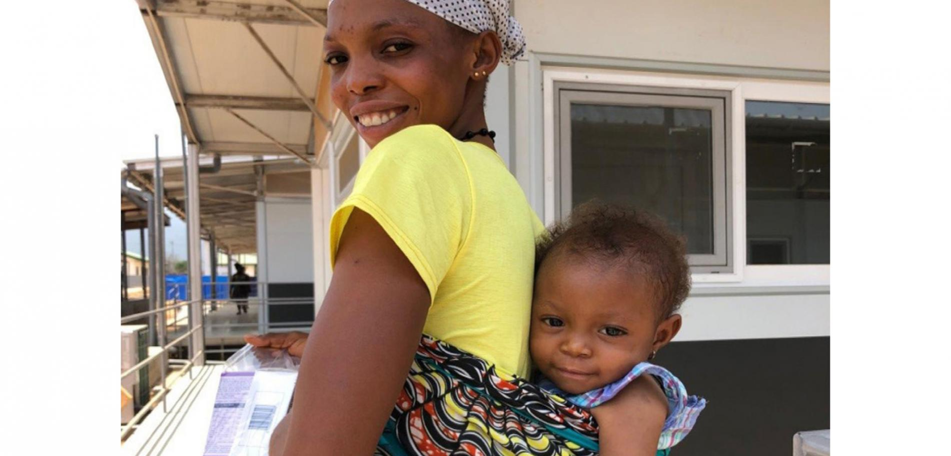 Sierra Leone - The first little lady of Kenema Hospital