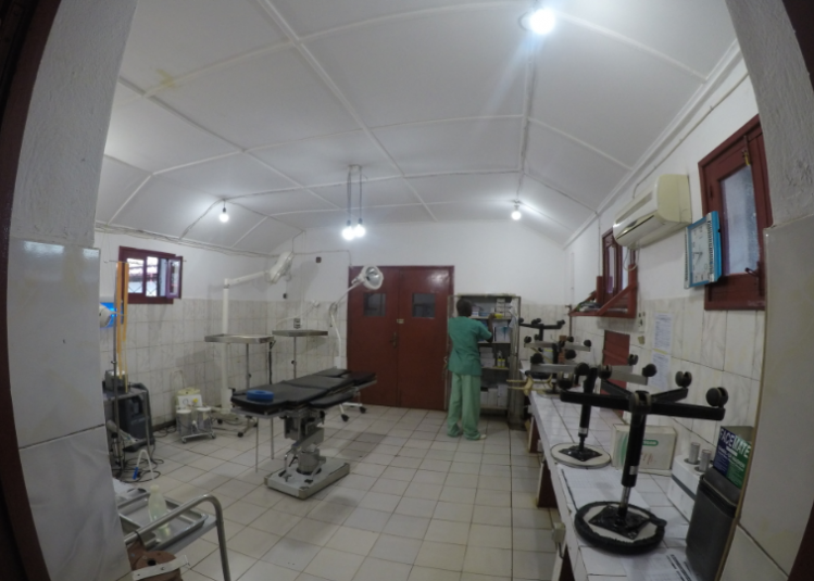 The operating theatre at the MSF hospital in Bossangoa
