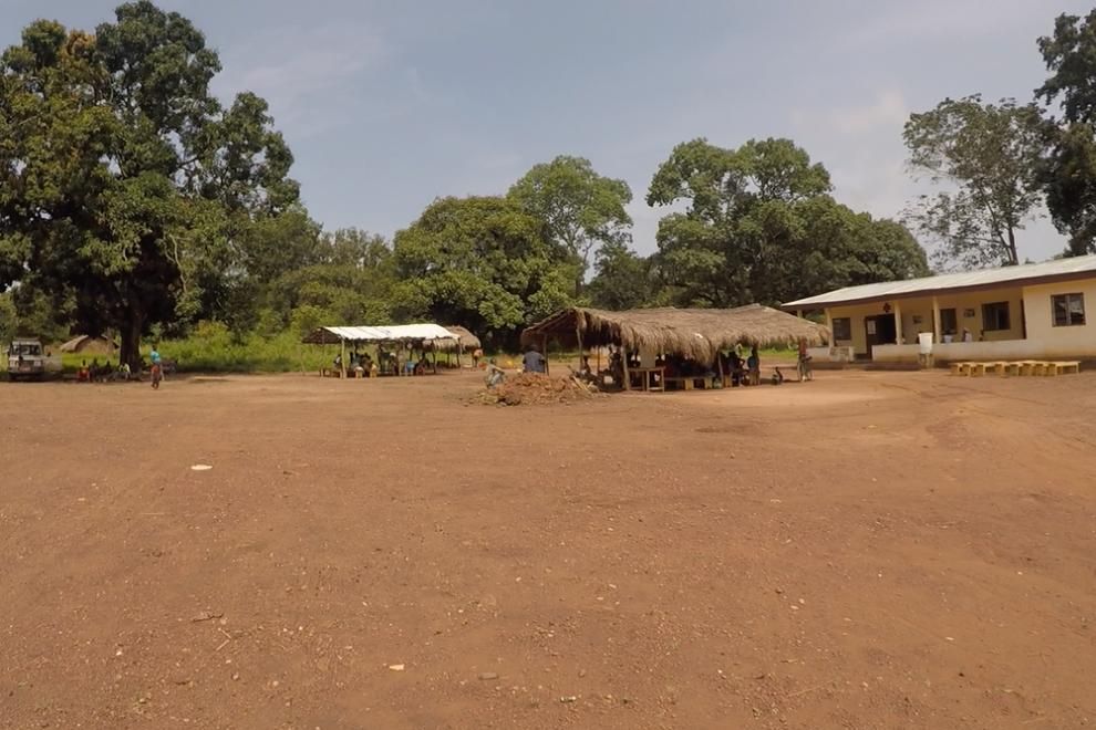 The community health centre in Benzembe