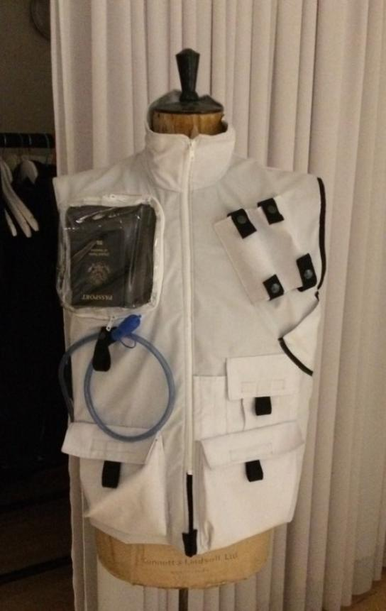 Decontamination vest