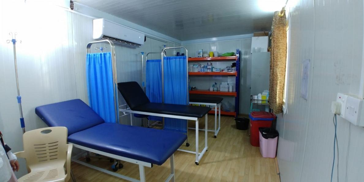 The new MSF ER in Al Qayarah, Iraq