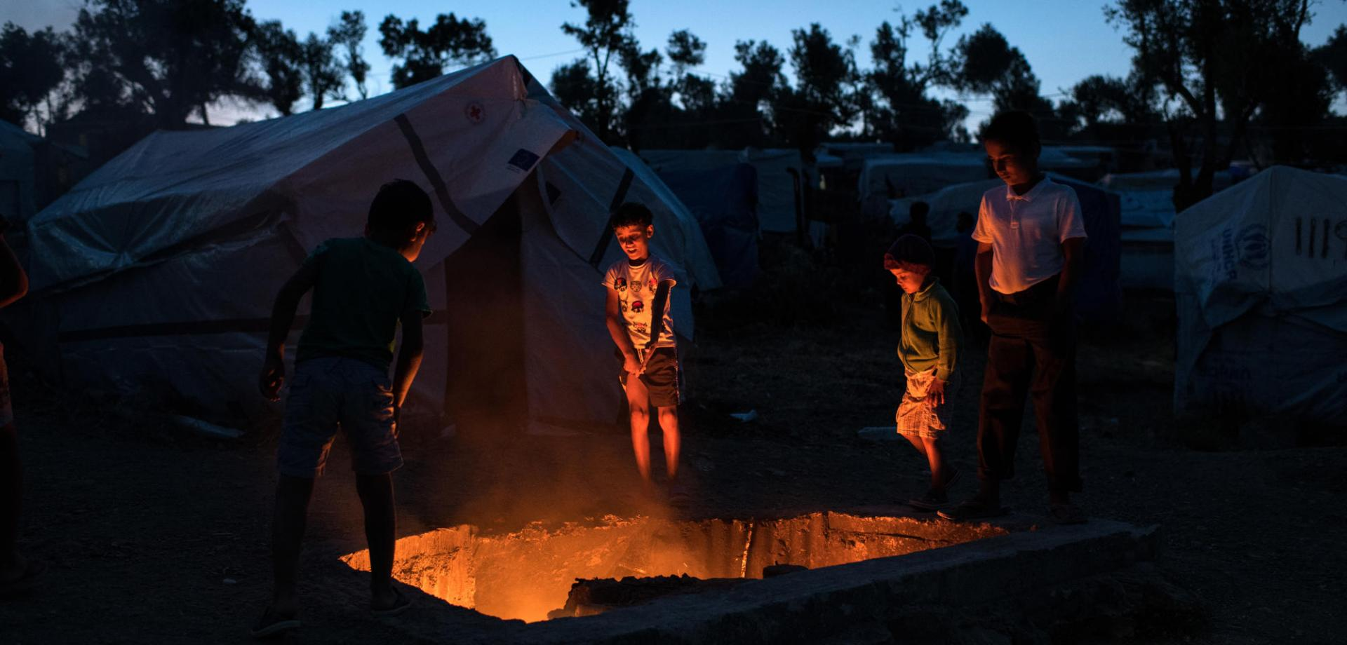 Many children in Moria have lived through traumatic events before they even reached the camp