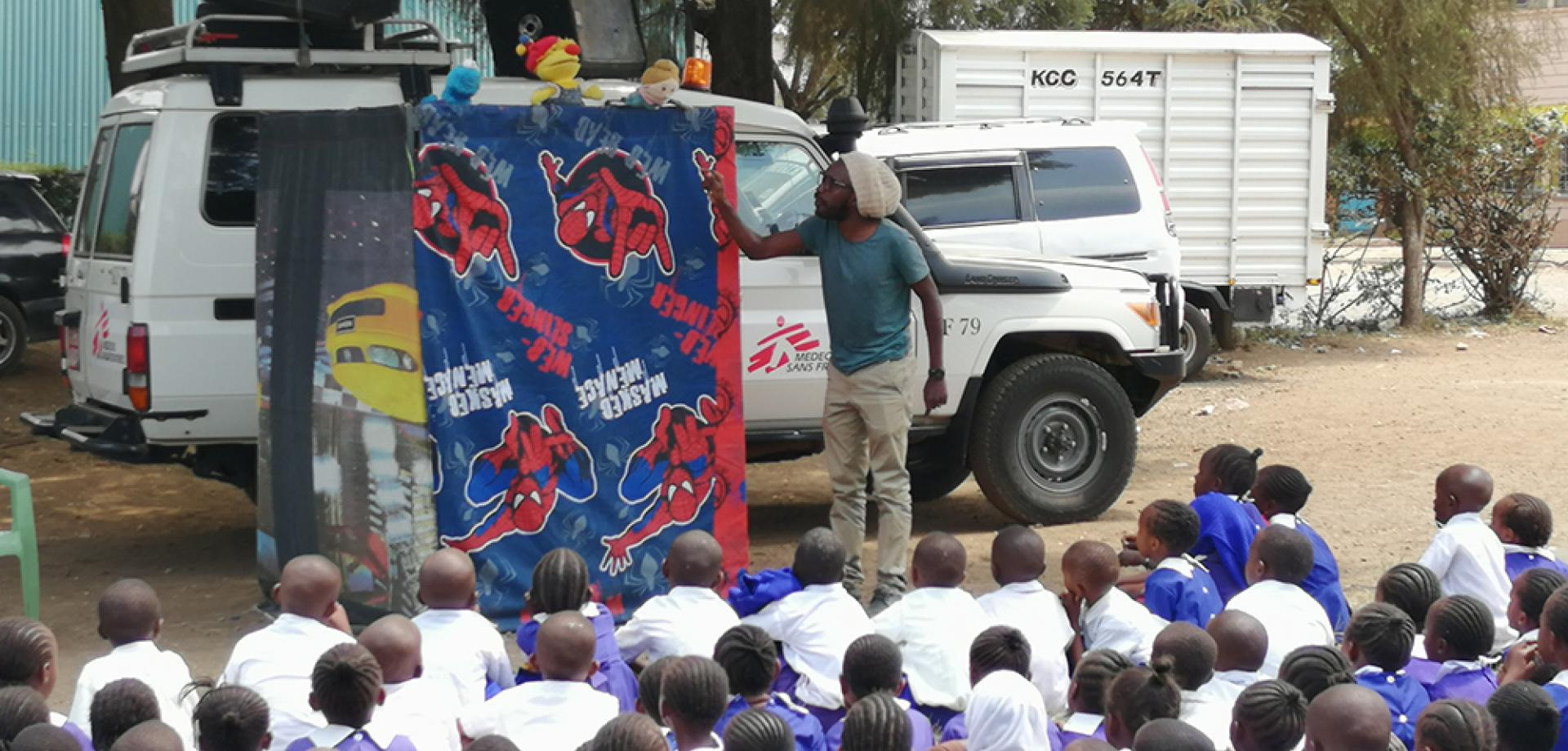 Using theatre to educate local primary school children about sexual violence