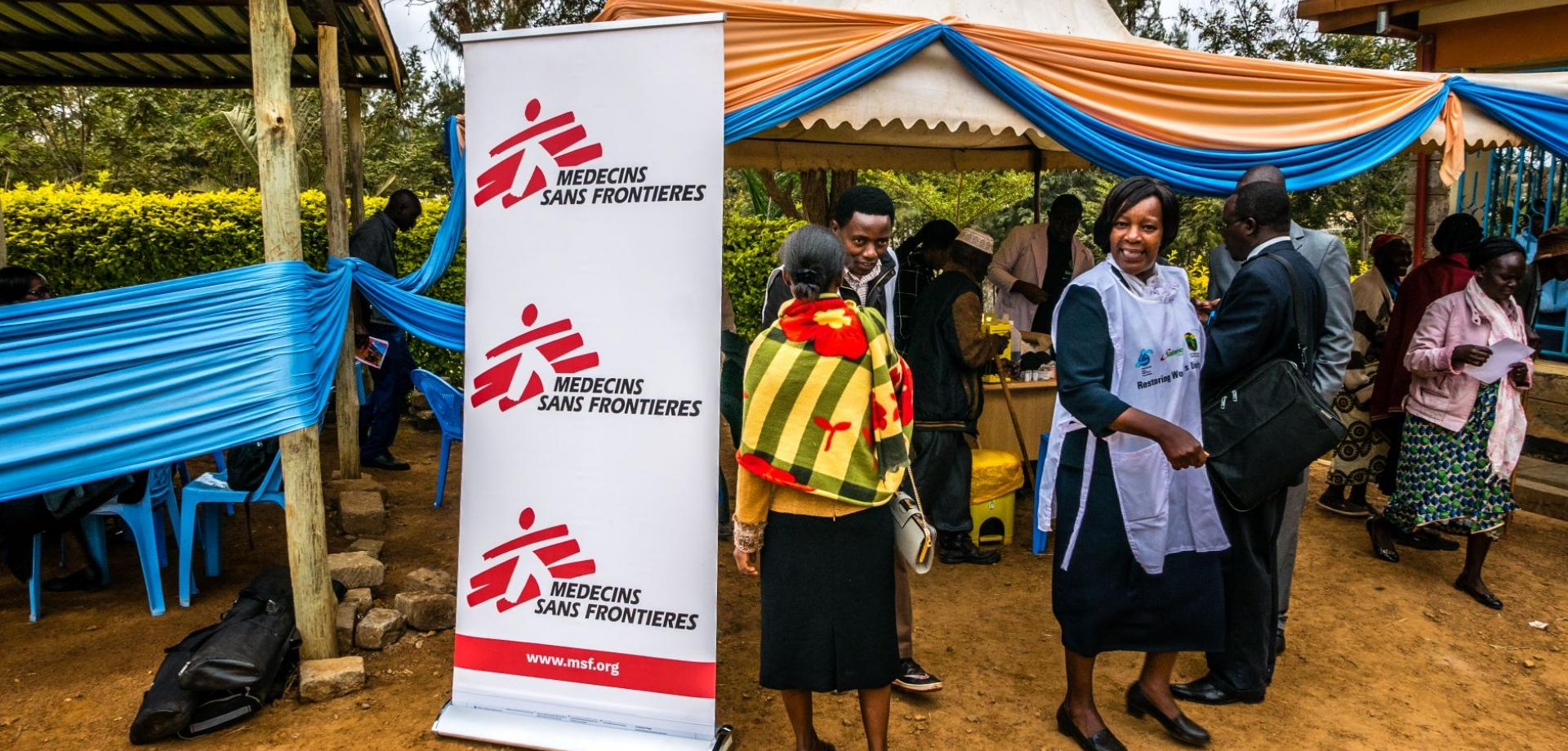 MSF at the medical camp